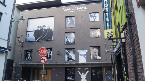 Wall of Fame Temple Bar