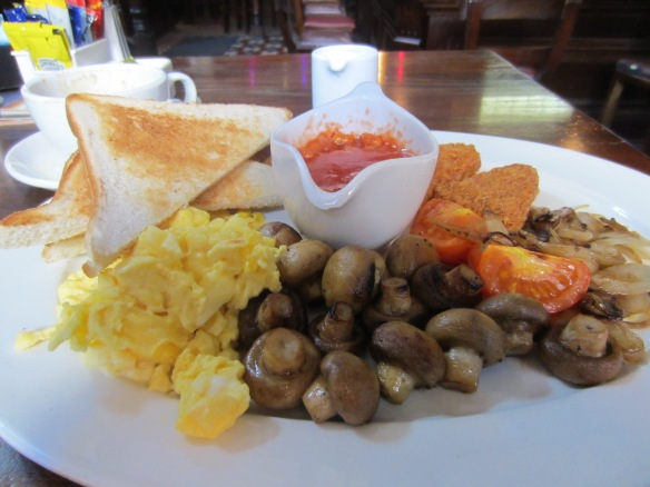 Breakfast at Slattery's Pub